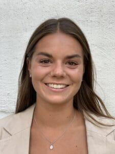 Ida Fahlén, undervisar på Uppsala Danscenter